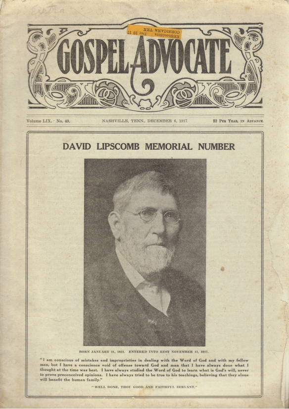 Nashville_Evangelists_Lipscomb.David_GA_Memorial_1917_cover